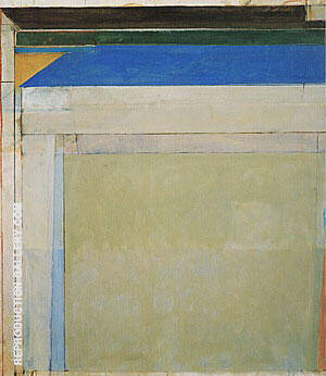 Ocean Park No.98, 1977 Painting By Richard Diebenkorn