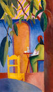 Turkish Cafe 2 By August Macke