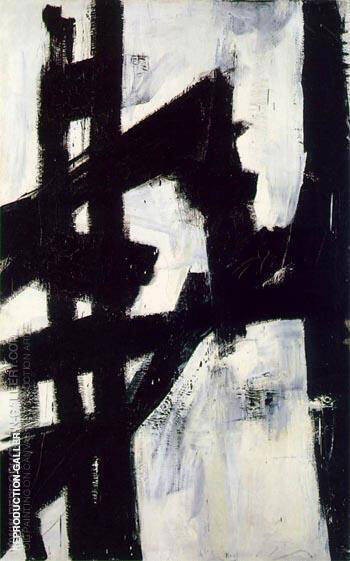 New York 1953 Painting By Franz Kline - Reproduction Gallery