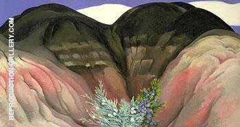 Black Hills with Cedar 1941 By Georgia O'Keeffe - Oil Paintings & Art Reproductions - Reproduction Gallery