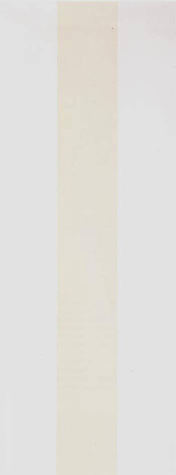 White Fire By Barnett Newman