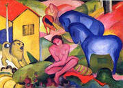 The Dream By Franz Marc