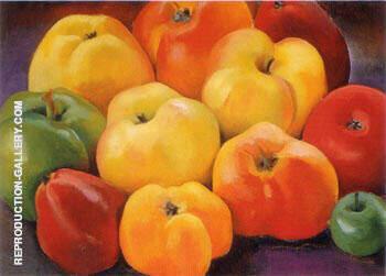 Apple Family 1 1920 By Georgia O'Keeffe