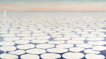 Sky above Clouds III By Georgia O'Keeffe