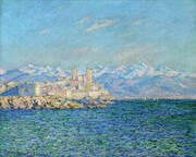 Old Fort Antibes 1888 By Claude Monet
