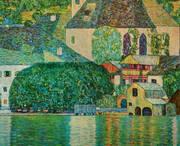 The Church of St Wolfgang By Gustav Klimt
