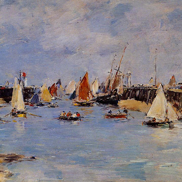 Oil Painting Reproductions of Eugene Boudin