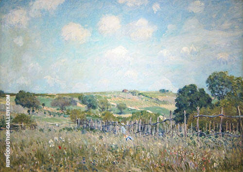 Meadow 1875 By Alfred Sisley Replica Paintings on Canvas - Reproduction Gallery