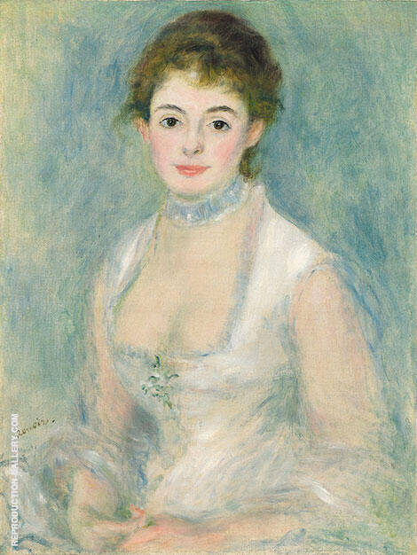 Madam Henriot By Pierre Auguste Renoir - Oil Paintings & Art Reproductions - Reproduction Gallery