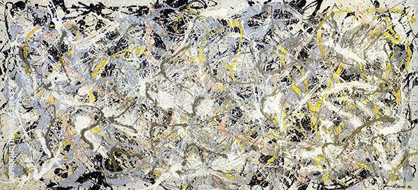 Number 27 1950 By Jackson Pollock