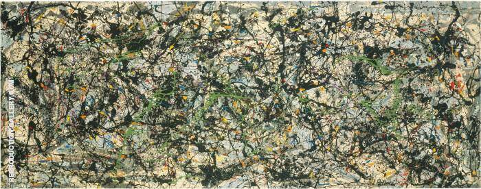 Lucifer 1947 By Jackson Pollock