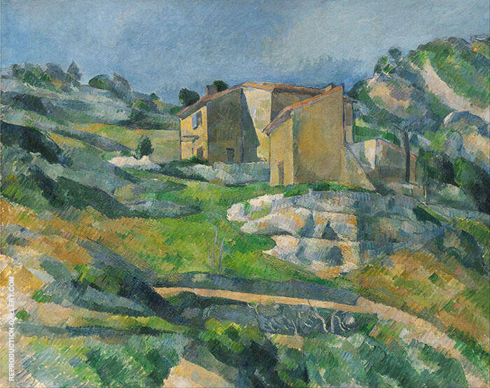 Houses in Provence 1800 By Paul Cezanne