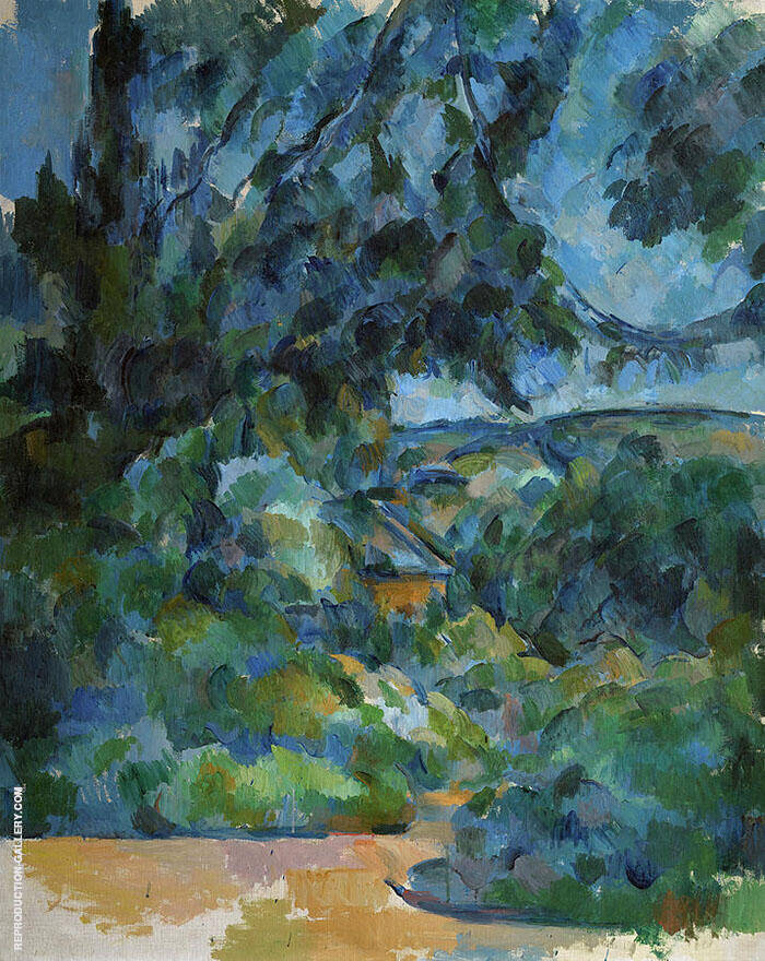 Blue Landscape 1904 By Paul Cezanne