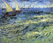 Seascape Saintes Marie 1888 2 By Vincent van Gogh