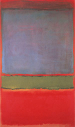 No 6 Violet Green and Red 1951 By Mark Rothko (Inspired By)