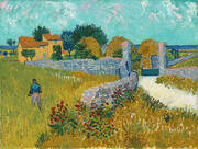 Farmhouse in Provence Arles 1888 By Vincent van Gogh