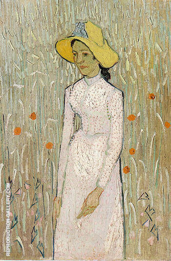 Girl in White 1890 By Vincent van Gogh