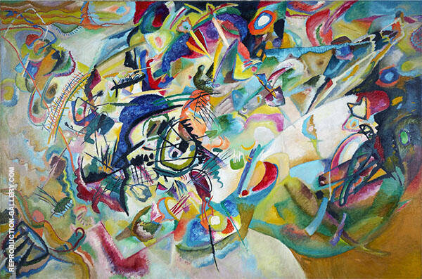 Composition VII 1913 By Wassily Kandinsky
