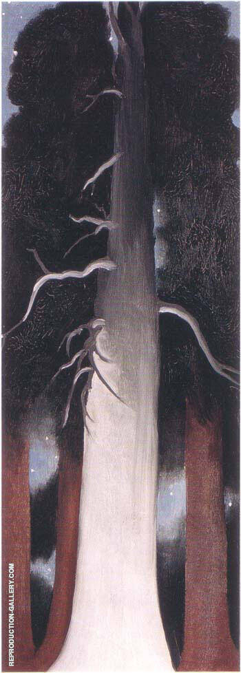 Bear Lake, New Mexico, 1930 Painting By Georgia O'Keeffe
