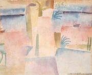Port of Hammamet By Paul Klee