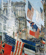 Allies Day 1917 By Childe Hassam