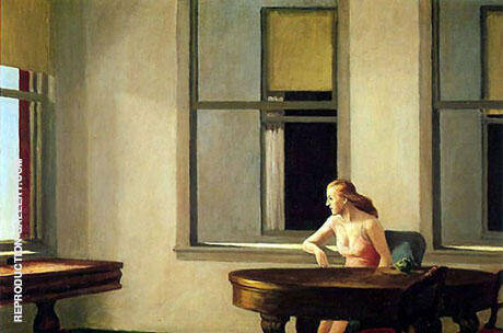 City Sunlight By Edward Hopper Replica Paintings on Canvas - Reproduction Gallery