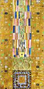 Stoclet Frieze Patterns By Gustav Klimt