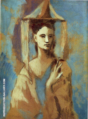 Spanish Woman from Mallorca Painting By Pablo Picasso