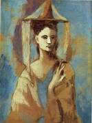 Spanish Woman from Mallorca By Pablo Picasso