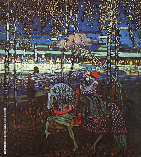 Riding Couple 1906 By Wassily Kandinsky