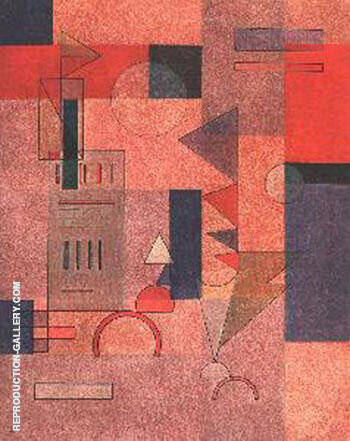 Layers 1932 By Paul Klee - Oil Paintings & Art Reproductions - Reproduction Gallery