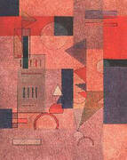 Layers 1932 By Paul Klee
