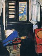 Interior with Violin 1917 By Henri Matisse