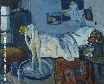 Blue Room 1881 By Pablo Picasso Replica Paintings on Canvas - Reproduction Gallery