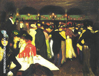 Le Moulin de la Galette 1900 By Pablo Picasso Replica Paintings on Canvas - Reproduction Gallery