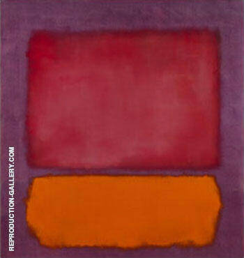 Untitled 1962 Painting By Mark Rothko - Reproduction Gallery