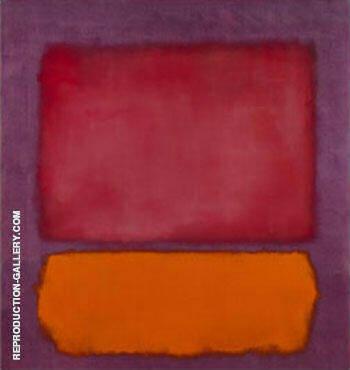 Untitled 1962 By Mark Rothko