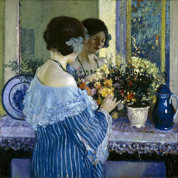 Oil Painting Reproductions of Frederick Carl Frieseke