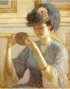 Reflections c 1908 By Frederick Carl Frieseke