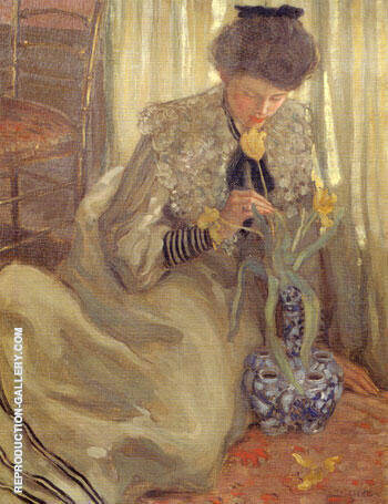 The Yellow Tulip 1902 By Frederick Carl Frieseke