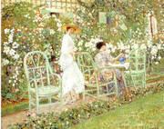Lilies 1911 By Frederick Carl Frieseke