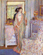 The Robe 1913 By Frederick Carl Frieseke