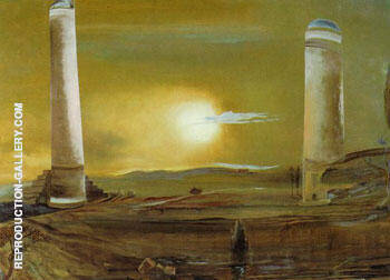 Raphaelesque Hallucination 1979 By Salvador Dali