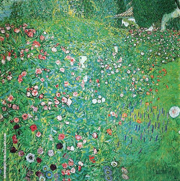 Italian Garden Landscape 1913 By Gustav Klimt