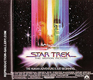 STAR TREK ROBERT WISE 1979 By Classic-Movie-Posters - Oil Paintings & Art Reproductions - Reproduction Gallery