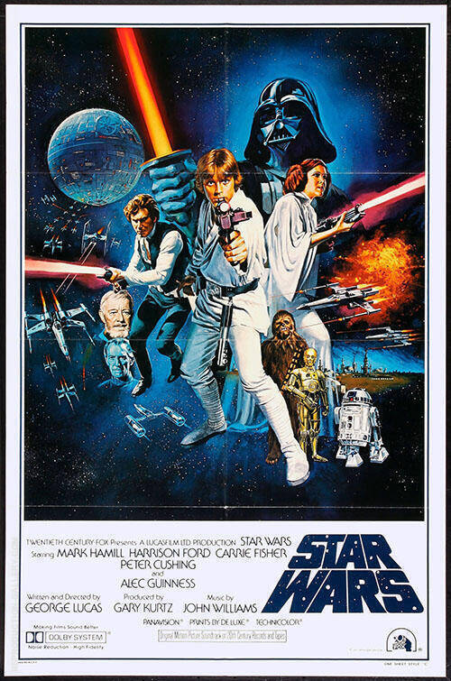 Star Wars Movie Poster By Classic-Movie-Posters