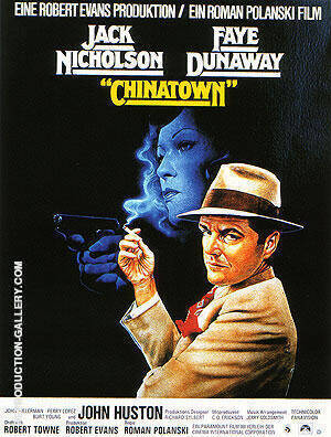 CHINATOWN ROMAN POLANSKI 1974 By Classic-Movie-Posters - Oil Paintings & Art Reproductions - Reproduction Gallery