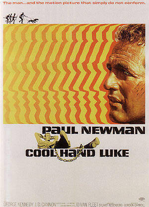 COOL HAND LUKE STUART ROSENBERG 1967 Painting By Classic-Movie-Posters