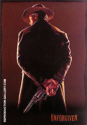 UNFORGIVEN CLINT EASTWOOD 1992 By Classic-Movie-Posters