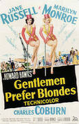 GENTLEMEN PREFER BLONDES HOWARD HAWKS By Classic-Movie-Posters